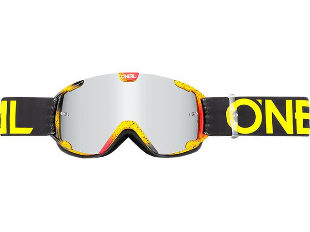 ONeal B-30 Goggles Youth INK black/hi-viz